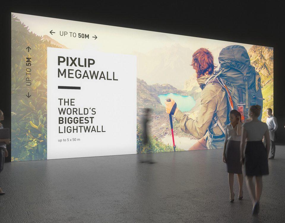 Световая стена — яркая рекламная площадь в большом формате