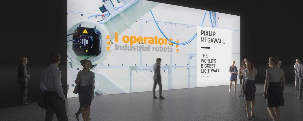 Мега световая стена — выдвигает вашу графику в центр всеобщего внимания