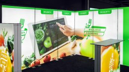 Pop-up Messestand, Mobiler Messestand