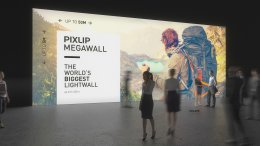 light walls, trade fair wall, LED light wall, mega wall, trade fair wall system, trade fair system, light wall system