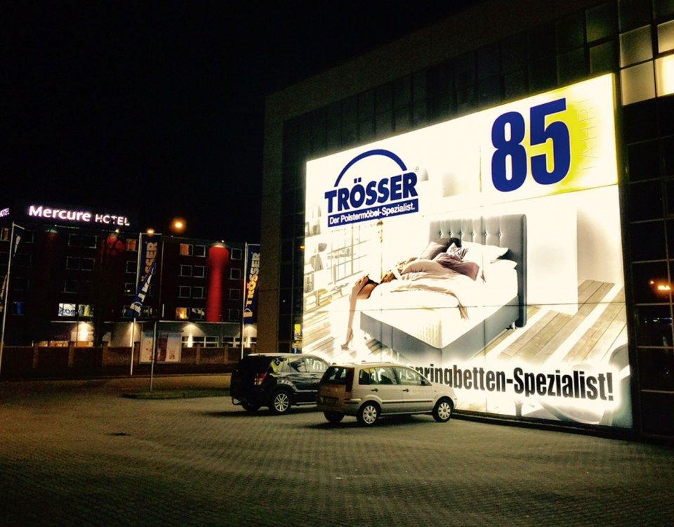 Meubelboulevard verlichte reclame
