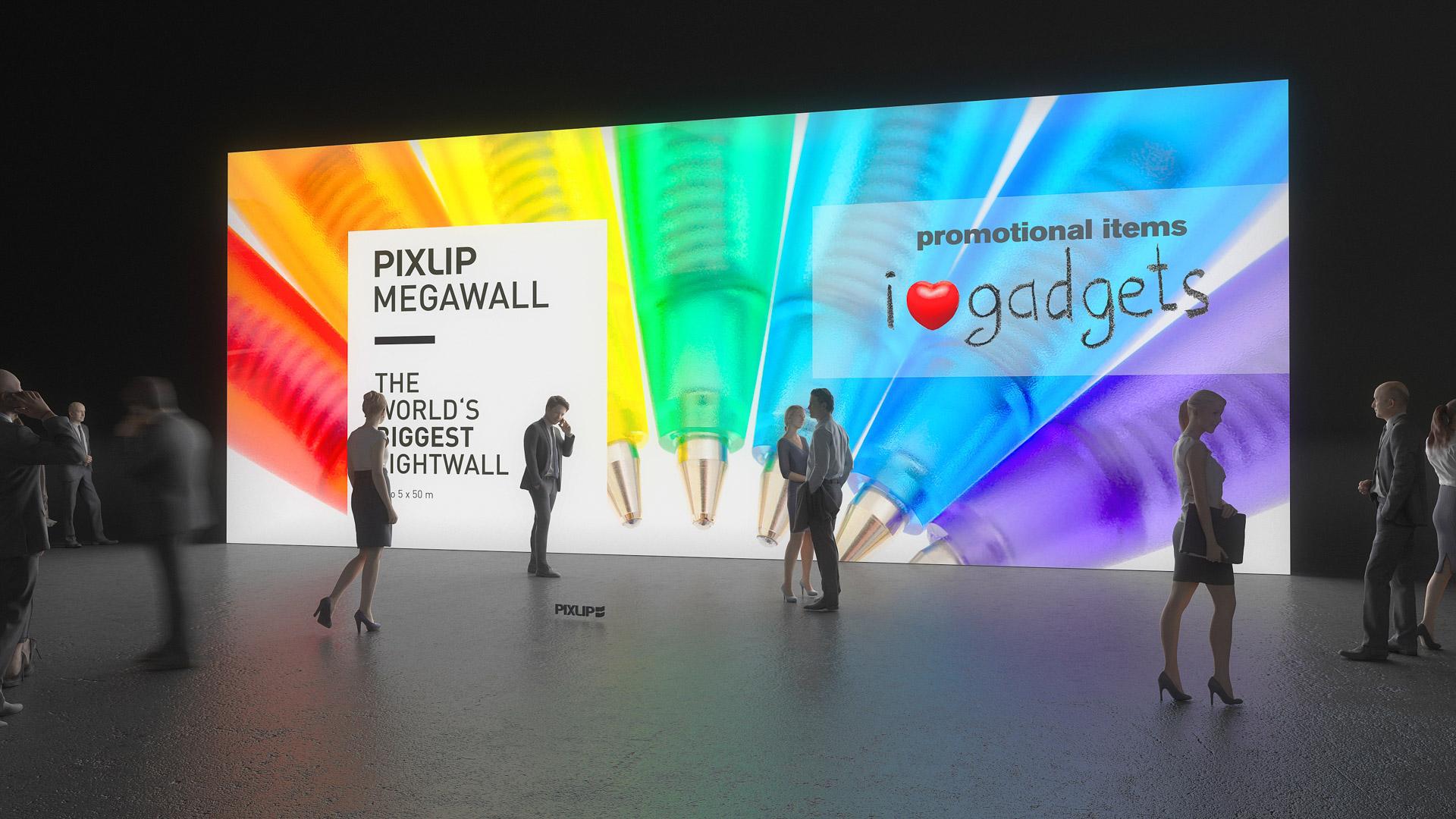 Graphic Design Muur : Mega lightwall megawall lightwall lichtwand messewand led