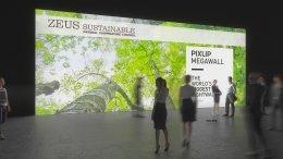 Light Wall, Mégawall, Lightwall, mur éclairé,mur d'exposition, mur de lumière LED, mur d'exposition, système de mur d'exposition, système de mur de lumière, Pixlip, exposition