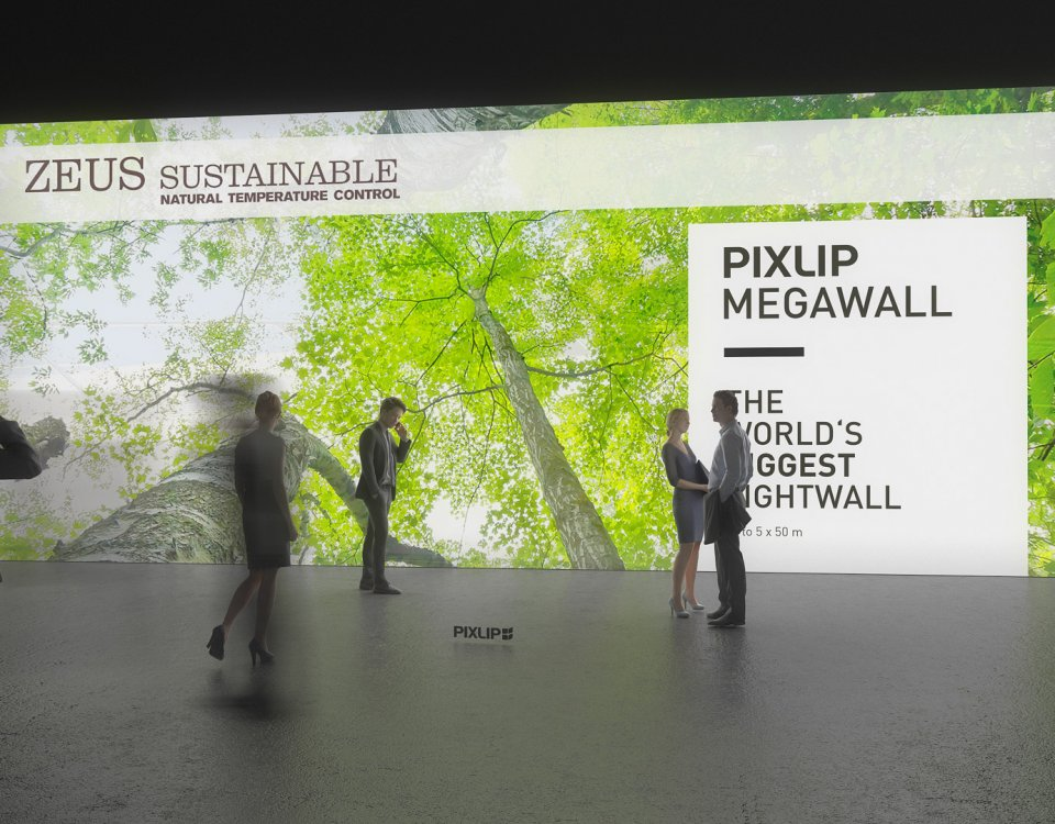 Sistema di illuminazione per pareti archive pixlip showcase