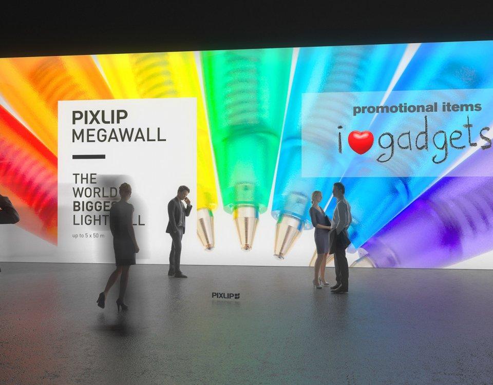 Выставочная стена — ваша рекламная поверхность размера XXL