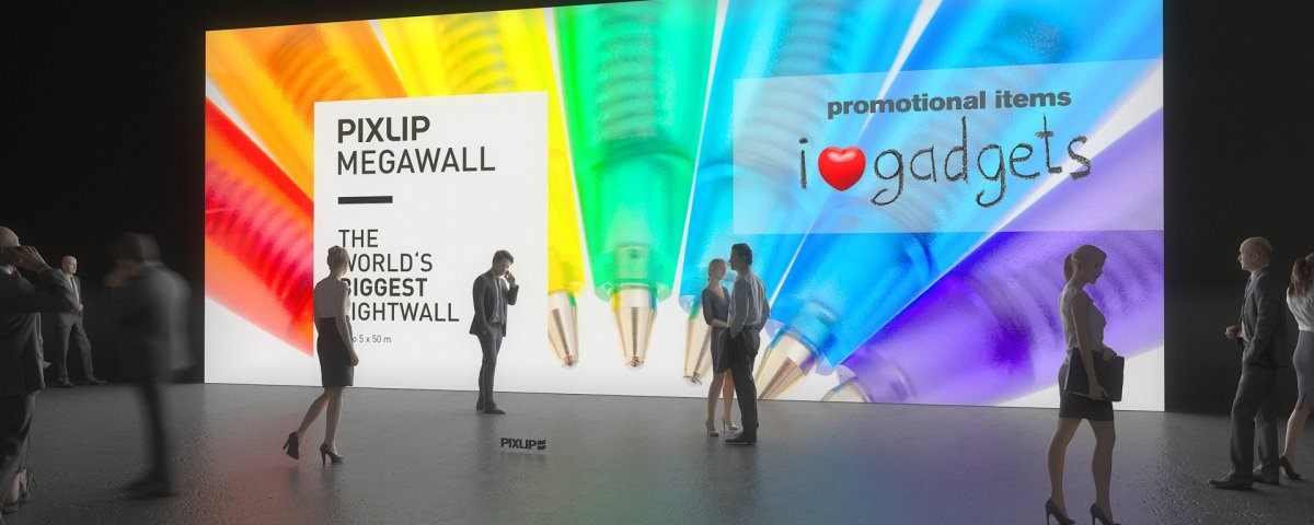 Световая-стена — приманка для глаз на ярмарках и мероприятиях