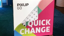 PIXLIP GO vs. Pop-up Display, Pixlip Go