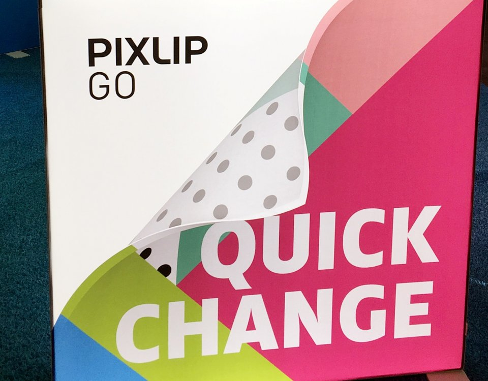 PIXLIP GO vs. Pop-up Display