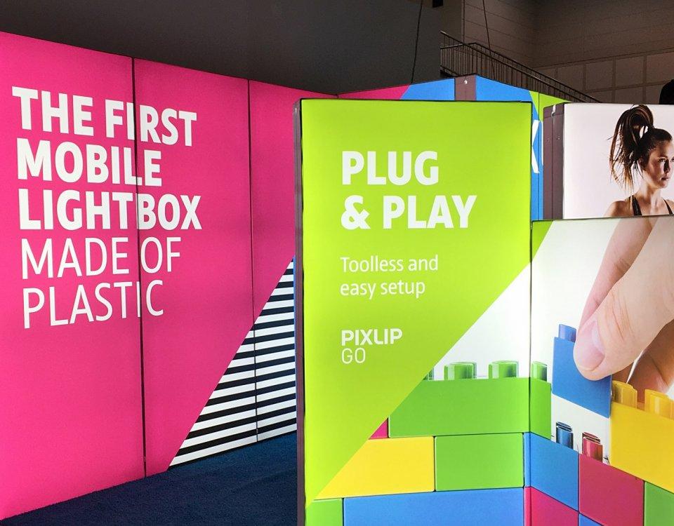 PIXLIP GO vs. Advertising banner