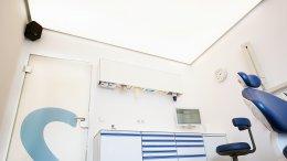 Zahnarztpraxis Deckenbeleuchtung, Praxislicht
