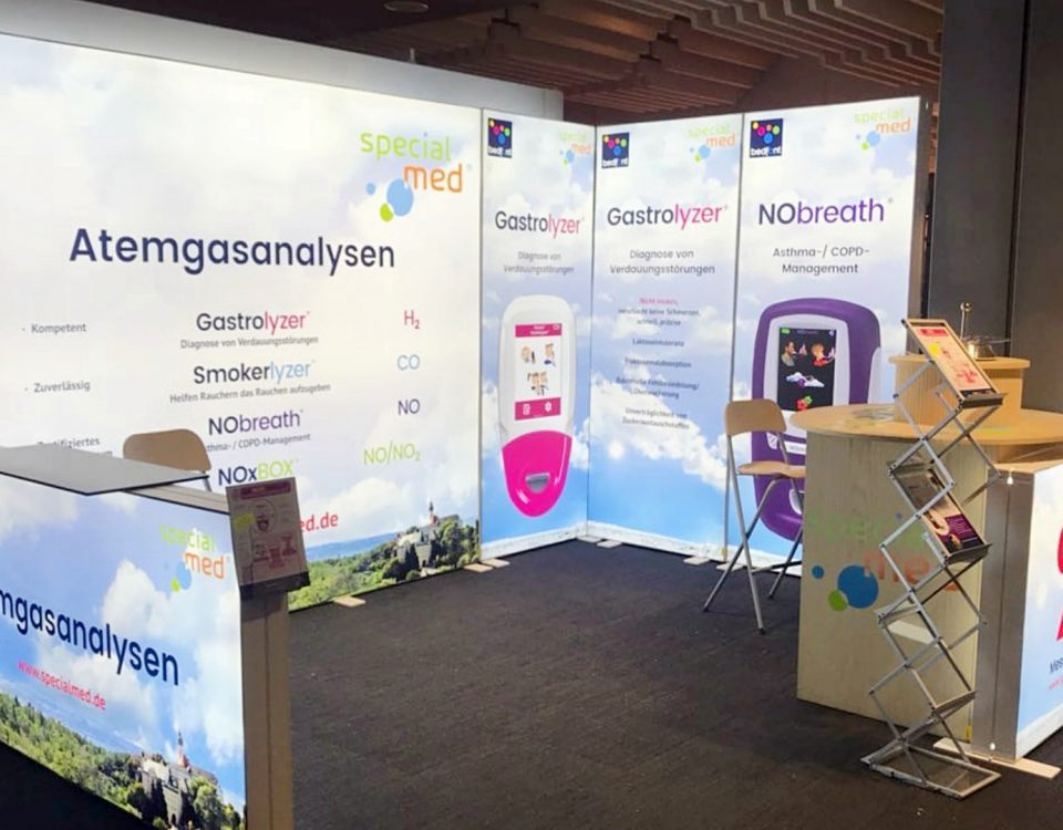 Heller Messestand mobil, Messestand mobil