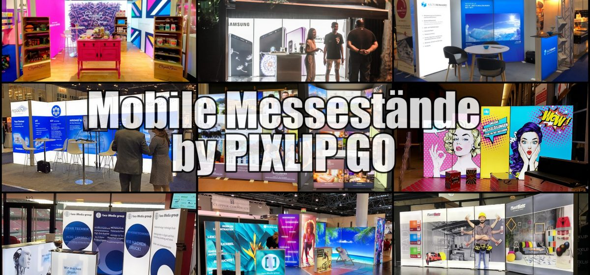 Mobile Messestände, Mobiler Messestand